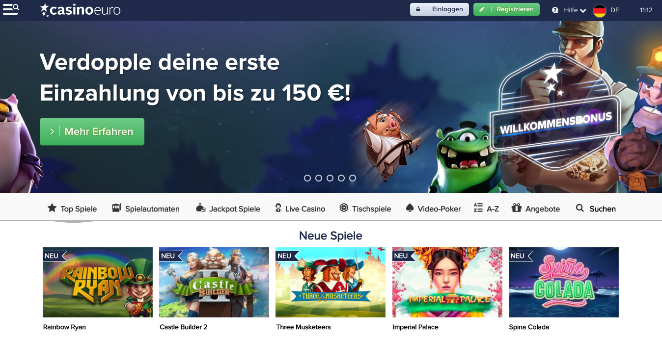 CasinoEuro Startseite
