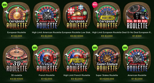 888 Casino Roulette Varianten