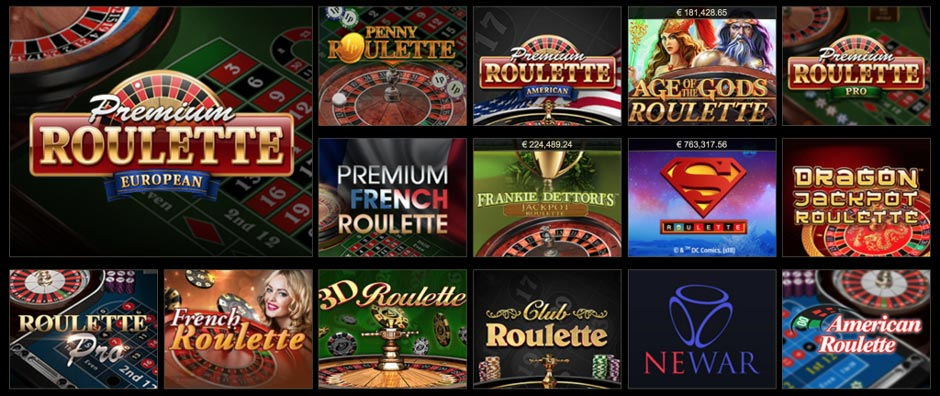 Eurogrand Roulette Games