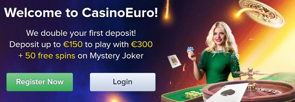 CasinoEuro Bonus Banner
