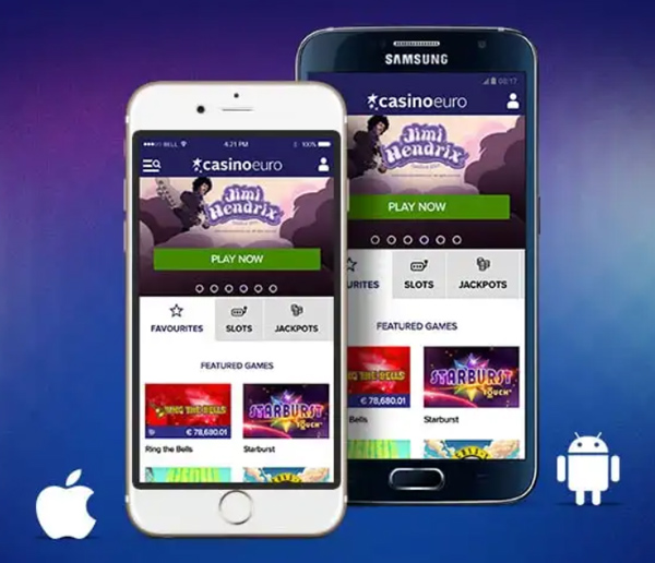 CasinoEuro Mobile