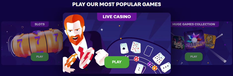 party casino popular games