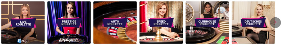 Party Casino Live Roulette