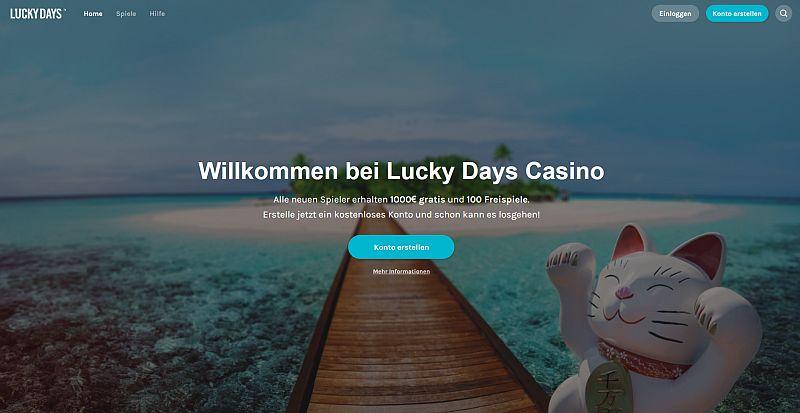 Lucky Days Startseite