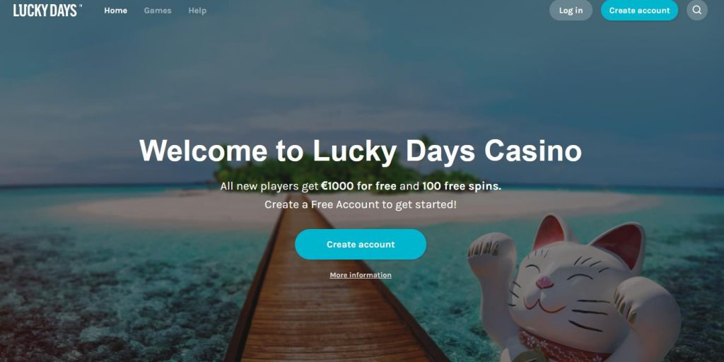 Lucky Days Website