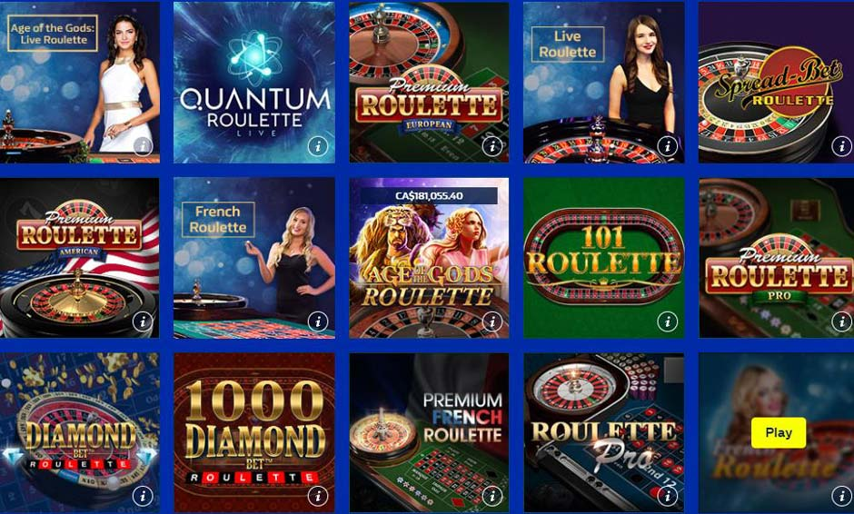 William Hill Roulette Games