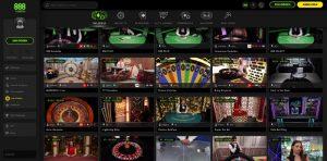 888 Casino Vorschau Live Casino