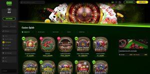 888 Casino Vorschau Roulette