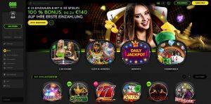 888 Casino Vorschau Startseite