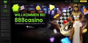 888 Casino Vorschau Welcome