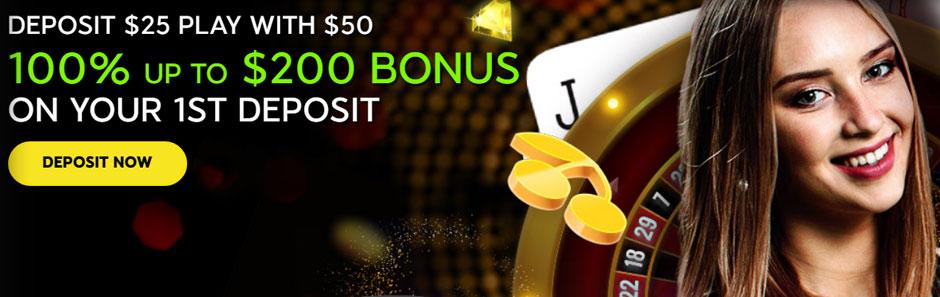 888 Casino Canada welcome bonus