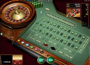 Microgaming European Roulette Gold