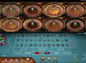 Microgaming Multi Wheel Roulette