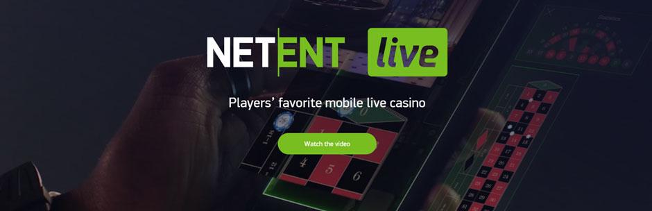 NetEnt banner