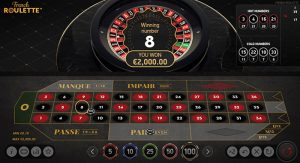 NetEnt French Roulette preview