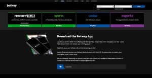 betway casino mobile