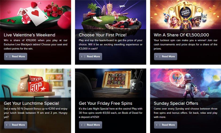 Casino Euro promotions