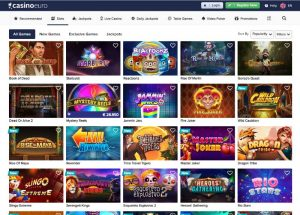 CasinoEuro slots