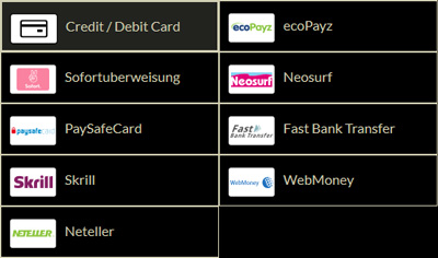 Eurogrand payment methods