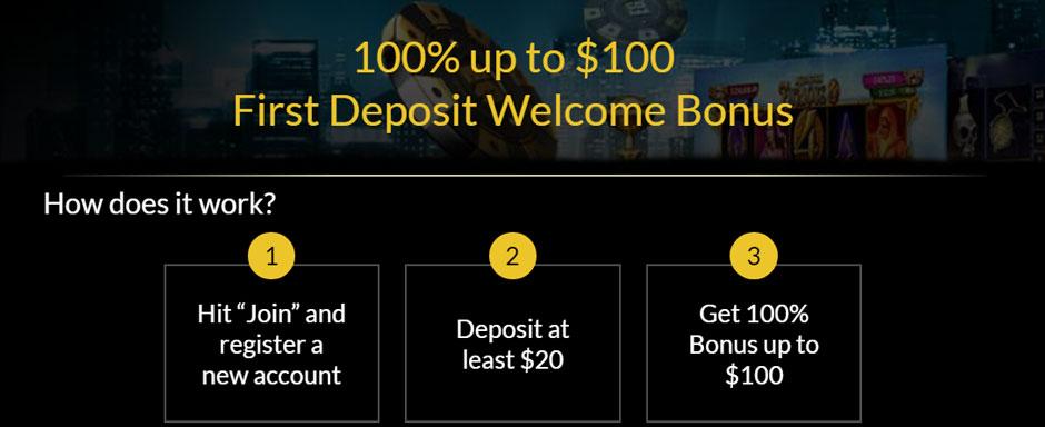 Eurogrand welcome bonus
