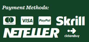 Mr Green Casino Payment Methods