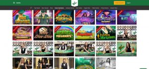 Mr Green exclusive games