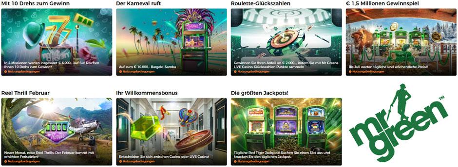 Mr Green Casino Voucher