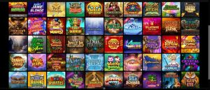 Spin Casino games overview