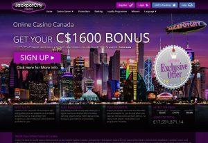 JackpotCity Canada preview casino