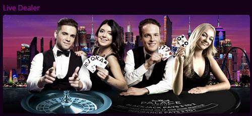 Jackpot City Live Casino