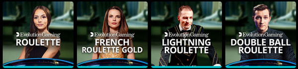 Jackpot City Casino live roulette