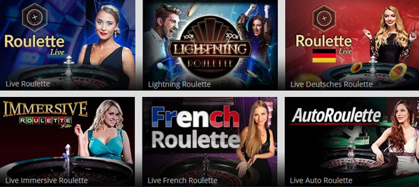 Magic Red Casino Live Roulette