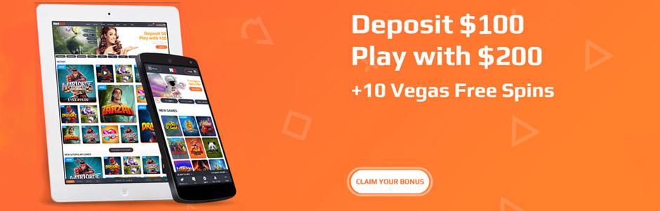 Netbet Casino Canada bonus