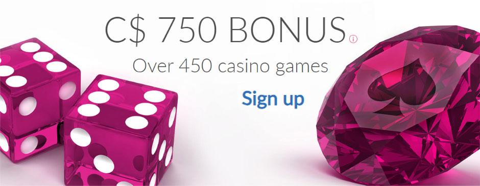 Ruby Fortune Canada bonus