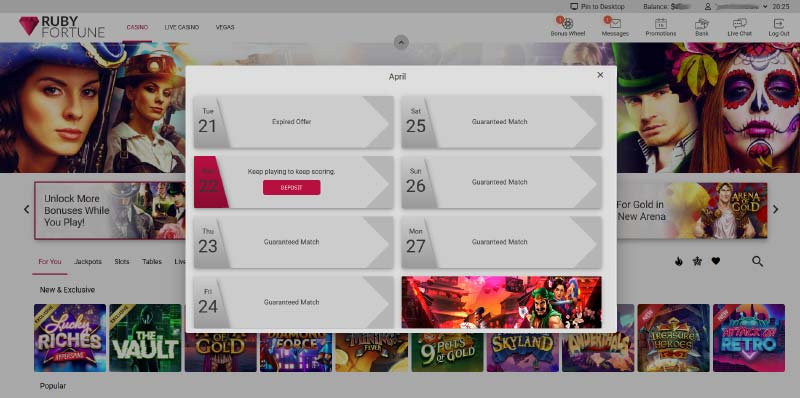 Ruby Fortune Download
