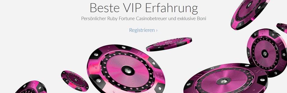 Ruby Fortune VIP Program