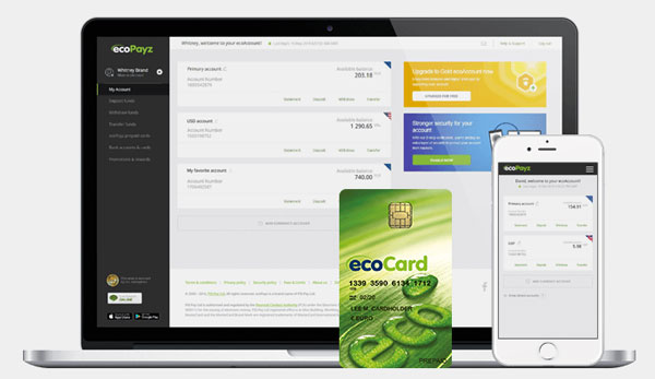 ecoPayz Zahlungen