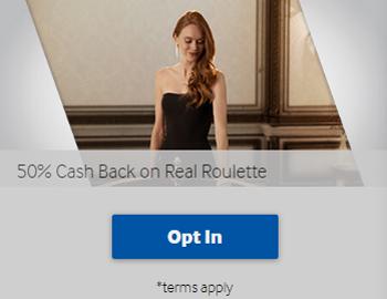 betway roulette cashback