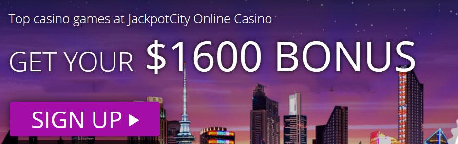 JackpotCity Bonus Banner