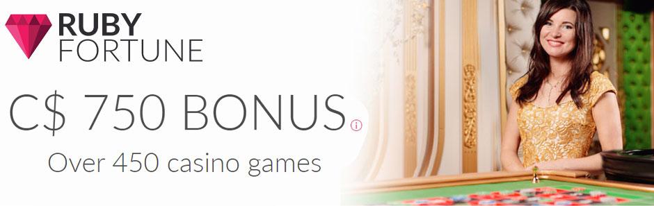 Ruby Fortune Bonus Banner Canada