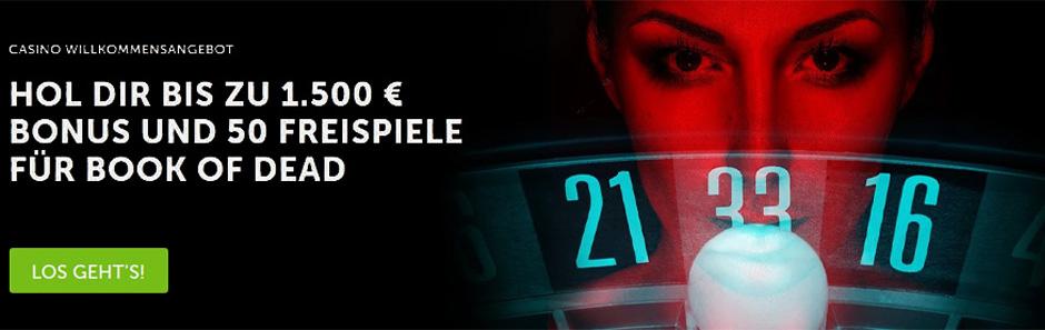 Betsafe Casino Roulette Bonus Banner