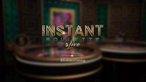 Instant Live Roulette Vorschau