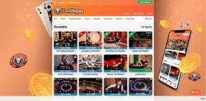 LeoVegas Casino Vorschau Live Roulette