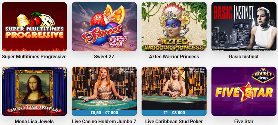 Leo Vegas Spiele